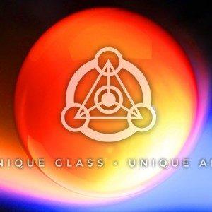 Molten Aura Colored Glass, Asheville NC